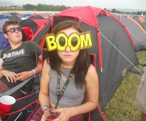 boom, camping, and campsite image