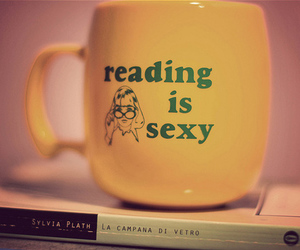 reading, sexy, and book image