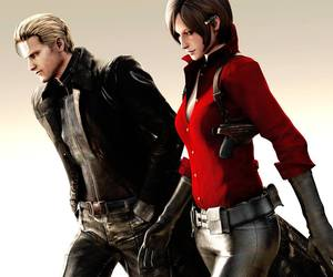 ada wong and albert wesker image