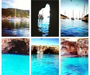 blue water, cool, and fashion image