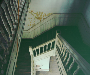 house, old, and stairs image