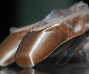 ballet, ballet shoes, and pointe shoes image