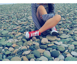converse, girl, and nice image