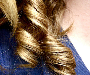 curly, hair, and photograph image