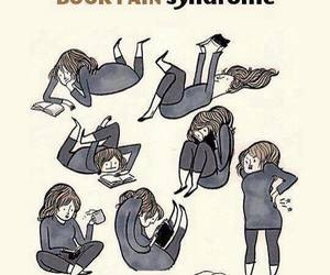 book, pain, and funny image