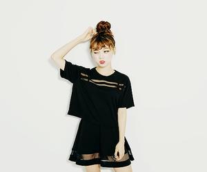 girl, kfashion, and korea image