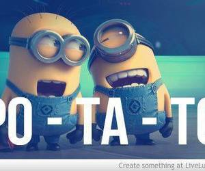 minions, potato, and despicable me image