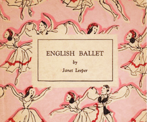 ballet, book, and vintage image