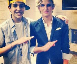 austin mahone, cody simpson, and boy image