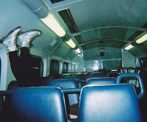 bus, hipster, and photography image