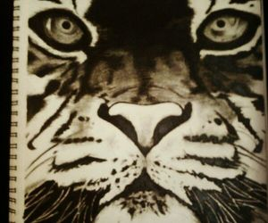 awesome, cute, and charcoal image