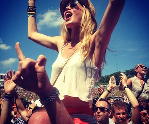 Tomorrowland and girl image