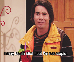 icarly, idiot, and funny image