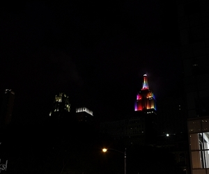 empire state, gay pride, and love image