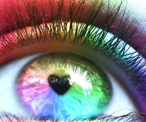 heart, rainbow, and cute and cool image