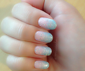 beautiful, creative, and ombre nails image