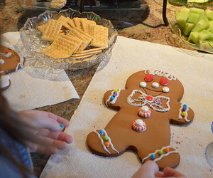 gingerbread, cookie, and cute image