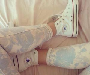 converse, fashion, and white image