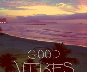 vibes, beach, and good vibes image