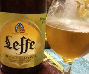 beer, germany, and leffe image