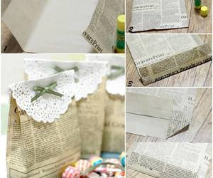 newspaper and diy image