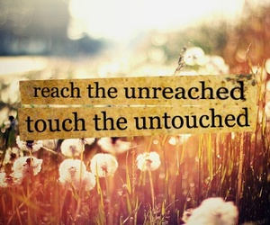 quote, reach, and unreached image