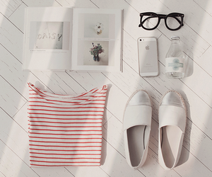 white, book, and glasses image