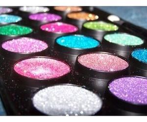 glitter, makeup, and make up image