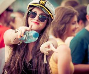 girl, Tomorrowland, and party image