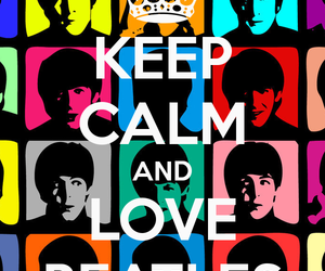 keep calm, the beatles, and beatles image