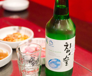 alcohol, drink, and korean image