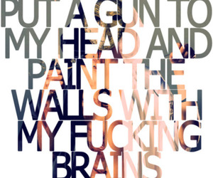 bring me the horizon, fight club, and quote image