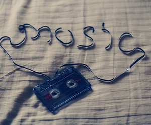 music and tape image