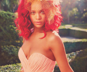 rihanna, red, and riri image