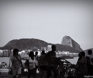 beach, brazil, and copacabana image