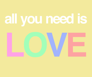 colors, need, and love image