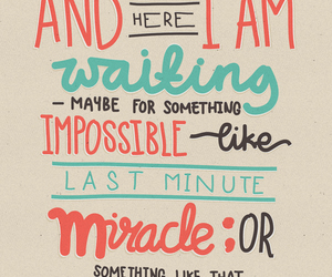 miracle, quotes, and cute image