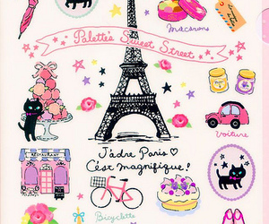 paris, wallpaper, and pink image