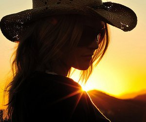 country, cowboy, and hat image