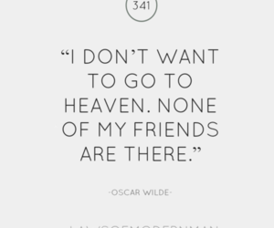 quote, heaven, and friends image