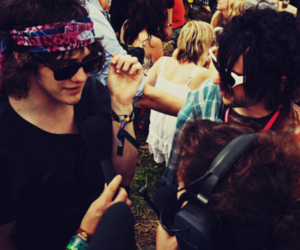 andrew vanwyngarden, MGMT, and hippie image