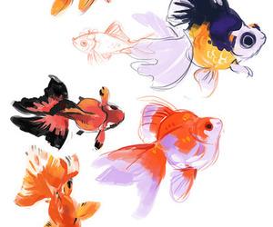 fish and illustration image