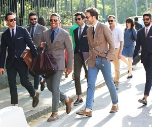 men, boy, and style image