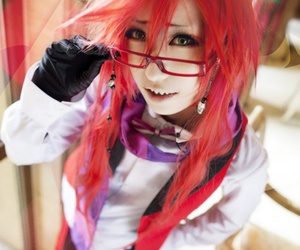 cosplay, anime, and grell image