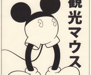 japanese, wtf, and mickey mouse image