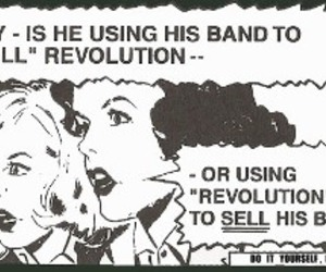 band, drawing, and revolution image