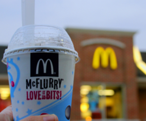 McDonalds, mcflurry, and photography image