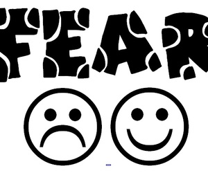 emoticons, fear, and emotions image