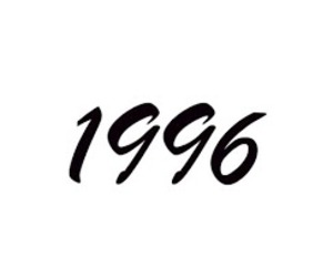 1996, 90's, and born image