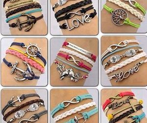 bracelet, accessories, and girly image